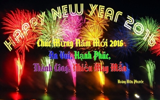 Happy New Year 2016 HHP