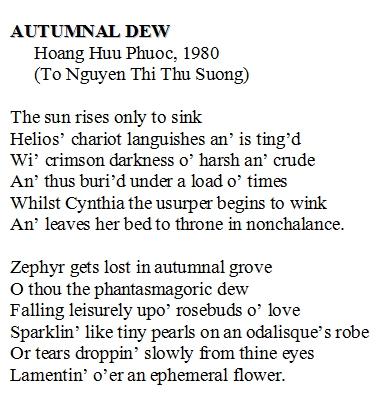 Autumnal Dew