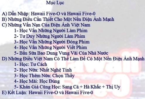 Tư Vấn Phát Triển Điện Ảnh Việt Nam (2)