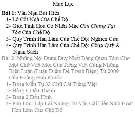 Wordpress Cải Tiến Tiếng Việt 1- Vấn Nạn Bùi Hiền