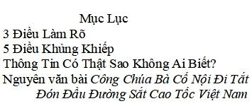 Duong Sat Cao Toc